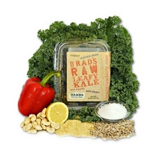 Brad's Raw Leafy Kale Naked Plain Vegan Cheese (12x2.5Oz)