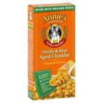 Annie's Homegrown Shells & Wisconsin Cheddar (12x6 Oz)