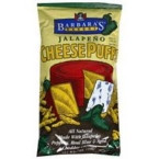 Barbara's Jalapeno Cheese Puffs Gluten Free (12x7 Oz)