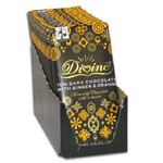 Divine Chocolate Dark w/Ginger & Orange (10x3.5 Oz)