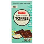 Alter Eco Dark Chocolate Coconut & Toffee (12x2.82 Oz)