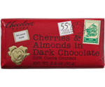 Chocolove Dark Chocolate Cherry & Almond Mini Bar (12x1.3 Oz)