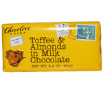 Chocolove Milk Choc Toffee & Almond Bar (12x3.2 Oz)