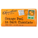 Chocolove Dark Chocolate Orange Peel Bar (12x3.2 Oz)