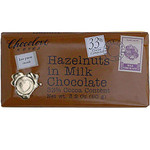Chocolove Milk Chocolate Bar With Hazelnut (12x3.2 Oz)