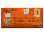 Chocolove Salted Peanut in Milk Chocolate Bar (12x3.2 Oz)