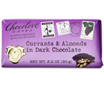Chocolove Currants & Almonds in Dark Choc Bar (12x3.2 Oz)