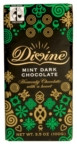 Divine Chocolate Dark With Mint Crisps (10x3.5 Oz)