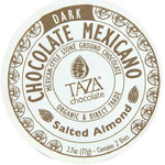 Taza Chocolate Salted Almond (12x2.7 OZ)
