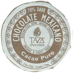 Taza Chocolate Cacao Puro, Drk Choc, 70% Cacao (12x2.7 OZ)