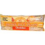 Edward & Sons Cheddar Brown Rice Snaps (12x3.5 Oz)