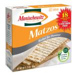 Manischewitz Matzo, Unsalted (12x10 OZ)