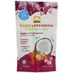Happy Creamies Organic VeggieFruit Snacks With Coconut Milk (8x1Oz)