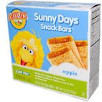 Earth's Best Sesame Street Apple Snack Bar (6x5.3 Oz)