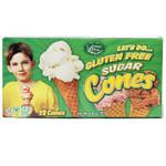 Edward & Sons Sugar Cones GF (12x4.6OZ )