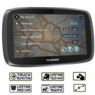 TomTom Trucker 6000 Lifetime GPS Sat Nav - Full Europe - Lifetime Maps & Traffic