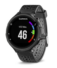 Garmin Forerunner 235 ANT+ GPS Integrated HRM Sports Running Watch - Black/Grey (Garmin Newly Overhauled)