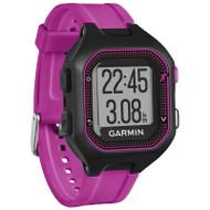 Garmin Forerunner 25 GPS Running Watch - Small, Black/Purple (Garmin Newly Overhauled)