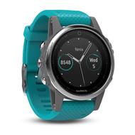 Garmin Fenix 5S Multisport GPS Sports Watch HRM - Turquoise