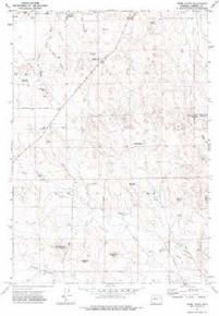 7.5' Topo Map of the Appel Butte, WY Quadrangle