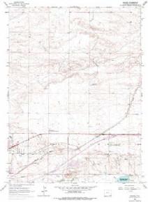 7.5' Topo Map of the Archer, WY Quadrangle