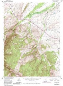 7.5' Topo Map of the Arlington, WY Quadrangle