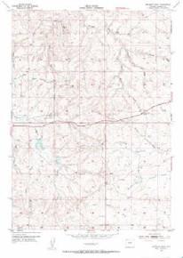 7.5' Topo Map of the Artesian Draw, WY Quadrangle