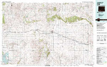 USGS 30' x 60' Metric Topographic Map of Lusk, WY Quadrangle