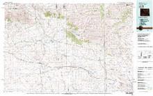 USGS 30' x 60' Metric Topographic Map of Lysite, WY Quadrangle