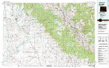 USGS 30' x 60' Metric Topographic Map of Pinedale, WY Quadrangle