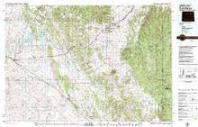 USGS 30' x 60' Metric Topographic Map of Sundance, WY Quadrangle