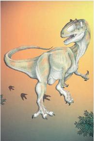 Allosaurus (postcard) (2005)