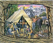 Field Camp (postcard) (2001)