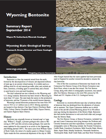 Wyoming Bentonite: Summary Report (2014)