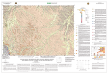 Geologic Map of the Sheridan 30' x 60' Quadrangle, Sheridan, Johnson, and Campbell Counties, Wyoming, and Southeastern Montana (2003)