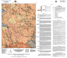 Preliminary Geologic Map of the Dale Creek Quadrangle, Albany County, Wyoming (2013)