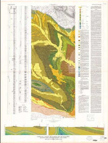 Geologic map of the Eagle Point Quadrangle and parts of the Bargee and Lookout Butte quadrangles, Fremont County, Wyoming