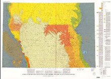 Geologic and structure map of the Powder River basin, Southeastern Montana and northeastern Wyoming