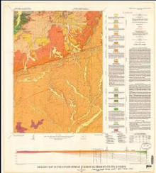 Geologic map of the Coyote Springs Quadrangle, Fremont County, Wyoming