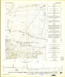 Geologic Map of the Dickie Springs Quadrangle, Fremont and Sweetwater Counties, Wyoming