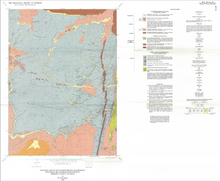 Geologic Map of the Radium Springs Quadrangle, Including the Lewiston Gold District, Fremont County, Wyoming (1988)