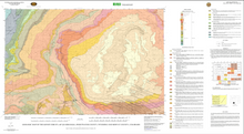 Geologic Map of the Kinney Rim 30' x 60' Quadrangle, Sweetwater County, Wyoming and Moffat County, Colorado (2004)