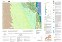 Geologic Map of the Newcastle 30' x 60' Quadrangle, Weston and Niobrara Counties, Wyoming, and Pennington and Custer Counties, South Dakota (2006)