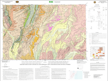 Geologic Map of the Evanston 30' x 60' Quadrangle, Uinta and Sweetwater Counties, Wyoming (2004)