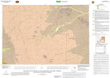 Geologic Map of the Bill 30' x 60' Quadrangle, Converse, Campbell, and Weston Counties, Wyoming (2007)