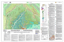 Geologic Map of the Devils Tower 30' x 60' Quadrangle, Crook County, Wyoming, Butte and Lawrence Counties, South Dakota, and Carter County, Montana (2008)