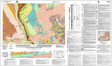 Geologic Map of the Baggs 30' x 60' Quadrangle, Carbon and Sweetwater Counties, Wyoming, and Moffat and Routt Counties, Colorado (2011)