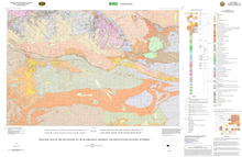 Geologic Map of the South Pass 30' x 60' Quadrangle, Fremont and Sweetwater Counties, Wyoming (2006)