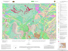 Preliminary Surficial Geologic Map of the Medicine Bow 30' x 60' Quadrangle, Carbon and Albany Counties, Wyoming (2006)