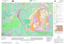 Preliminary Surficial Geologic Map of the Kinney Rim 30' x 60' Quadrangle, Sweetwater County, Wyoming and Moffat County, Colorado (2009)